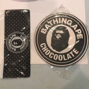 A Bathing Ape x Chocolate mouse pad pencil pouch